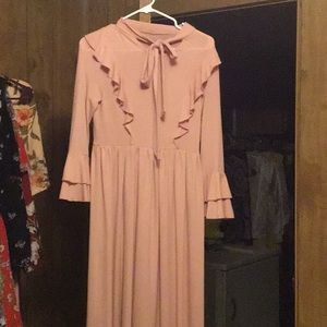 Pink dress perfect condition!
